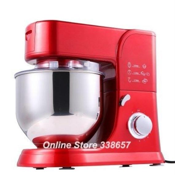 【送料無料!】スタンドミキサー 5.5L 1000W 220V 調理 ケーキ生地 パン ミキサー  プロフェッショナルキッチンスタンドミキサー  高品質【新品】
