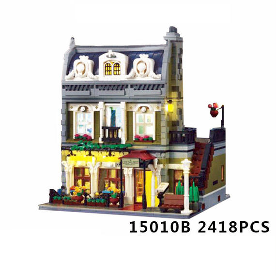 【送料無料!】【送料無料】Lepin 15010 2418ピースエキスパート目抜き通りパリレストラン【新品】