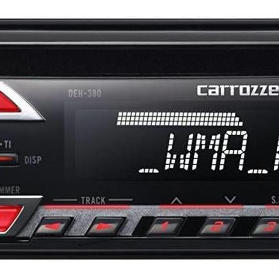 カロッツェリア(パイオニア) カーオーディオ DEH-380 1DIN CD