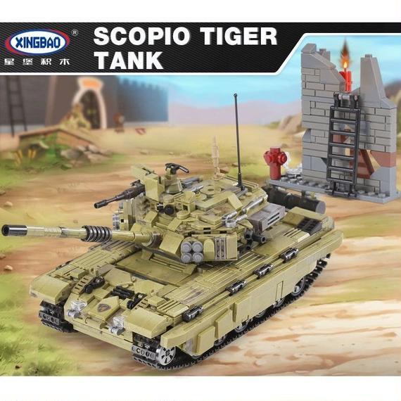 【送料無料!】Xingbao 06015本物の軍事シリーズを蠍座虎タンクセットビルディングブロック おもちゃ教育クリスマスギフト【新品】