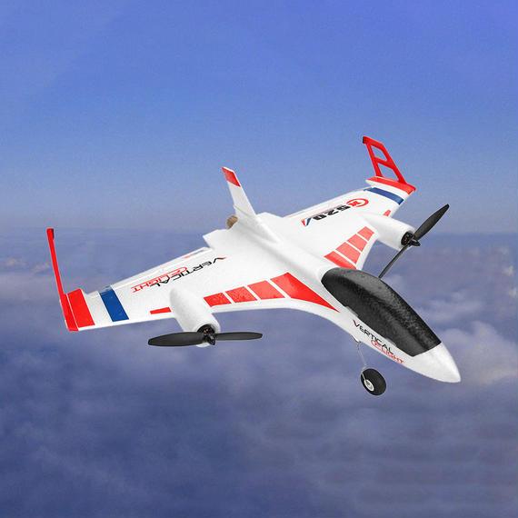 【送料無料!】XK X520 2.4G 6CH 3D / 6G飛行機VTOL垂直離陸陸上デルタ翼RCドローンモードスイッチ付【新品】