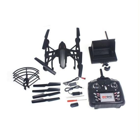【送料無料!】JXD 509G FPVモニター付き 空撮セット ラジコンヘリ クワッドコプター ドローン【新品】