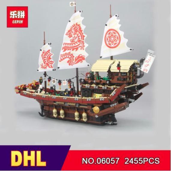 LEPIN ニンジャゴー 空中戦艦バウンティ号 70618相当 海外製品 ◆ レゴブロック 互換 ◆