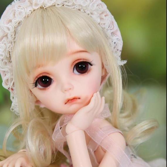 【送料無料!】球体関節人形 BJD 本体+眼球+メイクアップ済 海外ドール  幼女 ドロシー【新品】