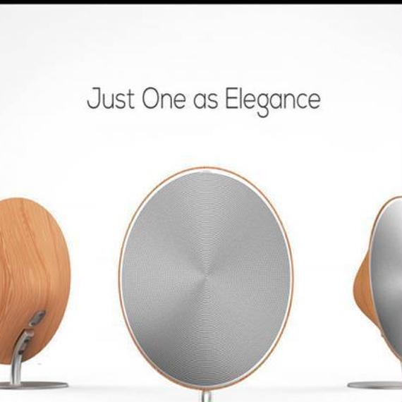 【送料無料!】木製のBluetooth NFCスピーカーソロタッチボタン付きワイヤレスサウンドボックスステレオハイファイスピーカー【新品】