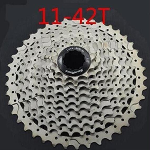 【送料無料!】SunraceCSMS3ms3自転車カセット10スピードバイクmtbフリーホイール_11-42T【新品】