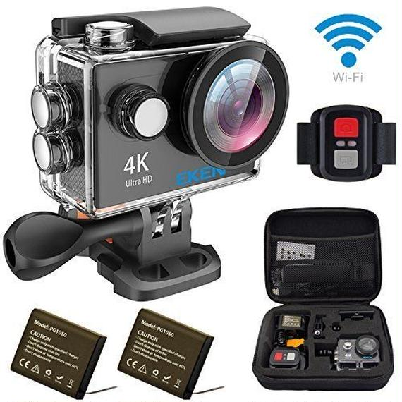 【送料無料!】 EKEN H9R ミニアクションカメラ 4K wifi リモコン付き スポーツカメラ ウェアラブルカメラ (海外から直送)【新品】