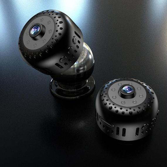 【送料無料!】超小型カメラ 128GB 高画質 スパイ 遠隔操作 極小 wifi スマホ 14【新品】