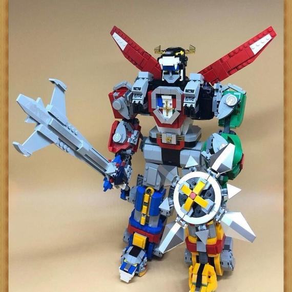 【送料無料!】LEPIN社 2600ピース アイデア ボルトロン Voltron LEGO レゴ 21311互換 レゴブロック互換 LEGO互換【新品】