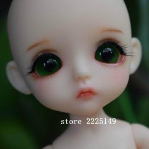 【送料無料!】球体関節人形 (本体・眼球・メイクアップ済)BJD カスタムドール 小さな女の子 1/8【新品】