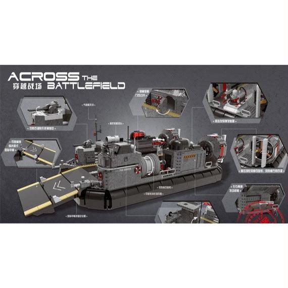 【送料無料!】Xingbao 06019本物の軍事シリーズ 水陸両用輸送船セット建設用 ブロックlegoinglyおもちゃとしてクリスマスギフト【新品】