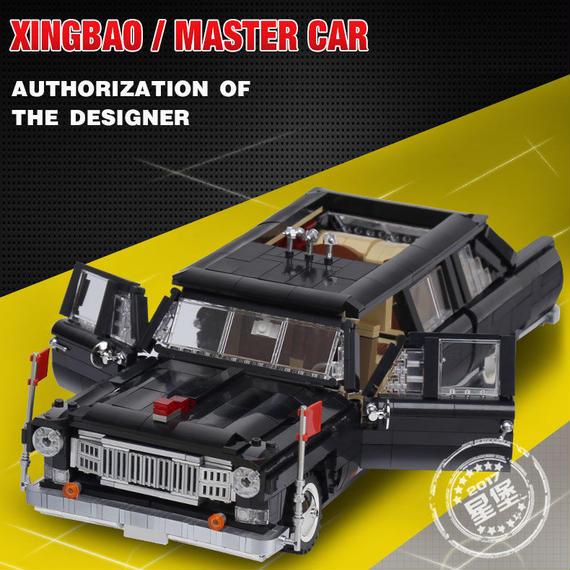 【送料無料!】Xingbao 03003新しい本物の創造mocテクニックシリーズ 紅旗マスター車セットビルディングブロックのおもちゃ【新品】