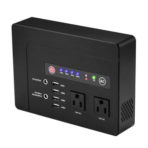 【送料無料!】大容量 コンセントが使える AC パワーバンク(42000mAh/200W)【新品】