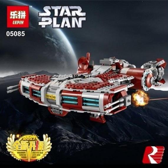 【送料無料】レゴ LEGO 互換 スターウォーズ Jedi Defender Class Cruiser 75025相当【新品】