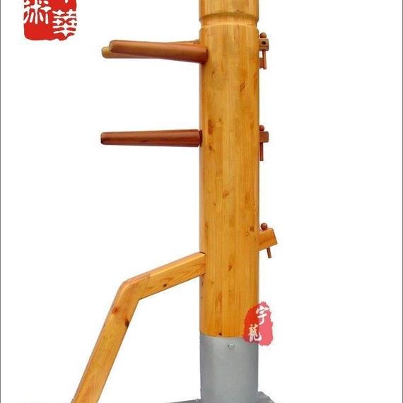【送料無料!】新品☆送料無料★ 木人椿 詠春拳 ジークンドー 170cm 色:レッド【新品】