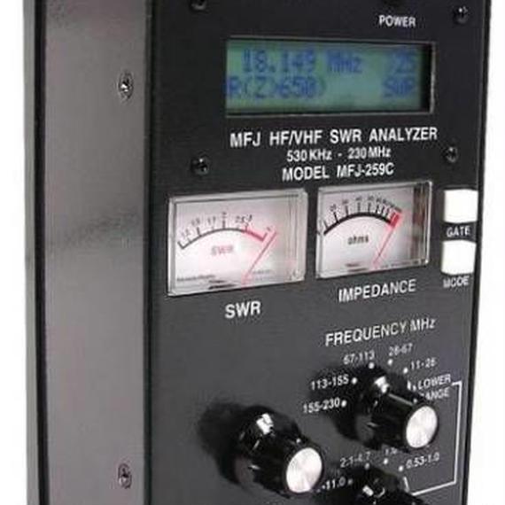 【送料無料!】MFJ-259C アマチュア無線 アンテナアナライザー SWRアナライザー【新品】