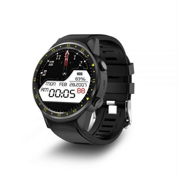 【送料無料!】タッチスクリーン GPS スマートウォッチ デジタル腕時計 スピード ランニング スポーツウォッチ【新品】