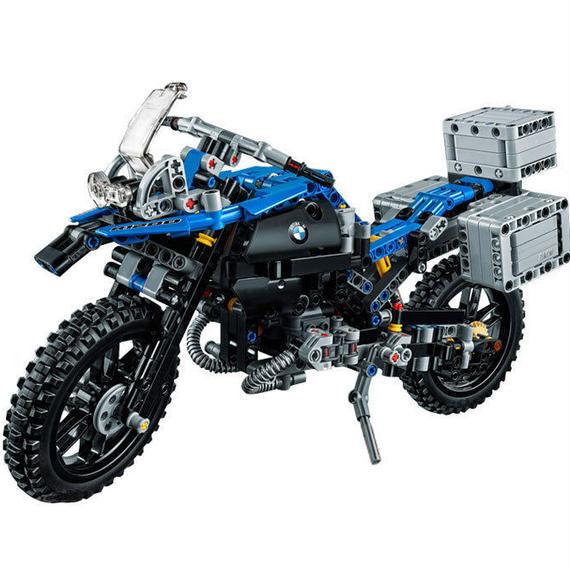 【送料無料!】レゴ互換 BMW R1200 メカニカルシリーズ LEGO互換 603ピース 【新品】