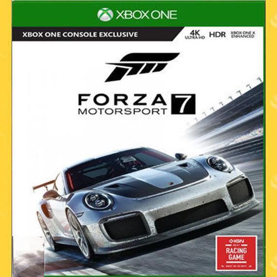 【送料無料!】XBOXONE アジア版 Forza Motorsport 7 新品即決【新品】