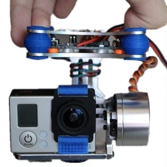 【送料無料!】FPV 2 軸 ブラシレス ジンバル Controller DJI Phantom GoPro 3 RC ドローン FPV Racing【新品】