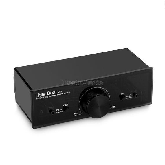 【送料無料!】ミュージックホールリトルベアMC2完全にバランスの取れたパッシブ・プリアンププリアンプXLR / RCAコントローラーオーディオ信号【新品】