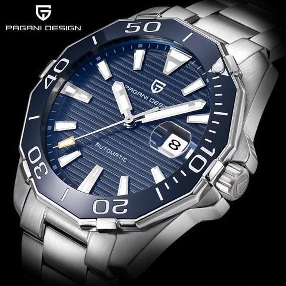 【送料無料!】PAGANI DESIGN 海外 高級 ハイファッションブランド 本革 多機能腕時計 日本未発売モデル 大人の時計 手巻き式 G02【新品】
