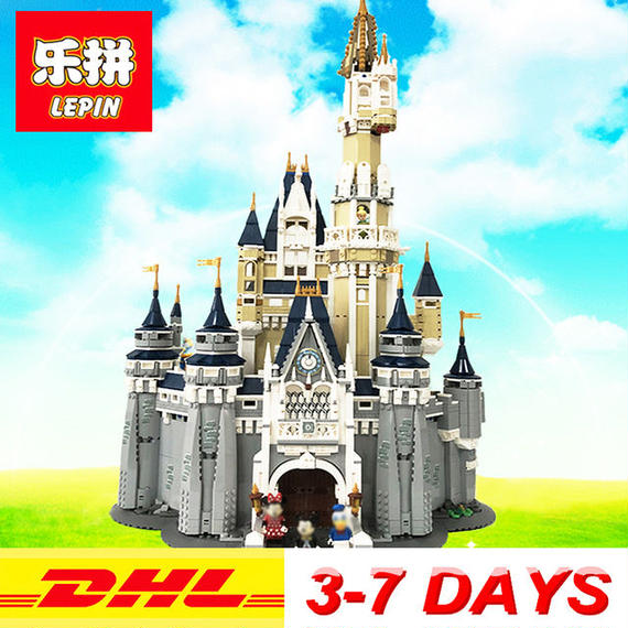 【送料無料!】【送料無料】lepin 16008 クリエイター シンデレラ プリンセス城セット レゴ互換【新品】