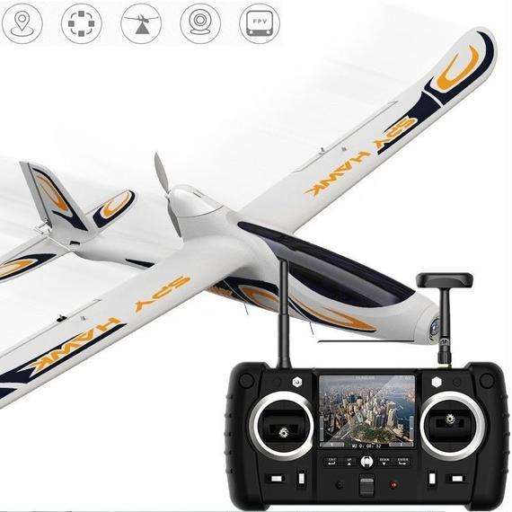 【送料無料!】Hubsan H301S for SPY HAWK 5.8G FPV 4CH RC Airplane RTF With GPS Module (MODE2)【新品】