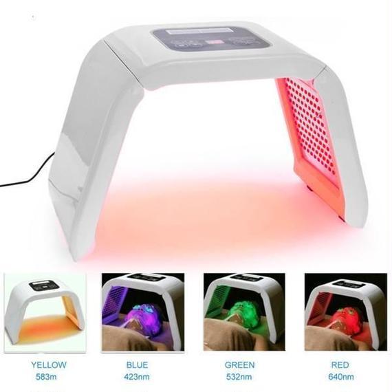 【送料無料!】美顔 4色LED美顔器 最新アーチ型モデル【新品】