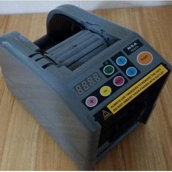 電動テープカッター 自動カット ZCUT9 オートディスペンサー 事務 便利 オート テープ カッター クラフト