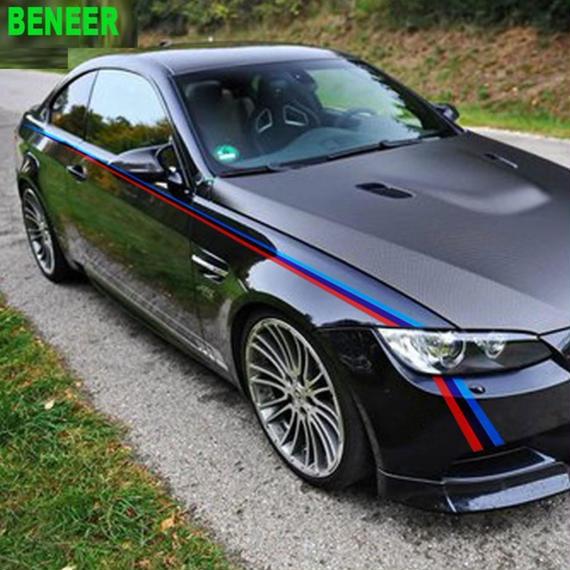 【送料無料!】BMW ステッカー ボディ Mパフォーマンス E36 E39 E46 E53 E60 E61 E64 E70 E71 E85 E87 E90 E83 F10 F20 F21 【新品】