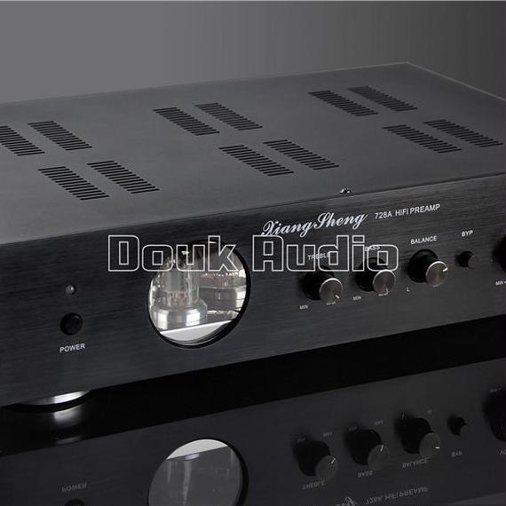 【送料無料!】ミュージックホールの最新ハイエンドXiangSheng 728A真空12AT7 12AU7真空管プリアンプステレオハイファイプリアンプオーディオプロセッサ【新品】