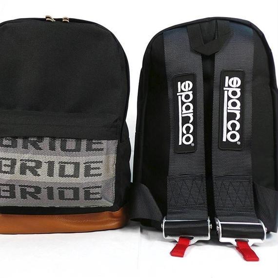 【送料無料!】BRIDE×SPARCO Harness Backpack ブリッド×スパルコ バックパック リュックサック 【新品】