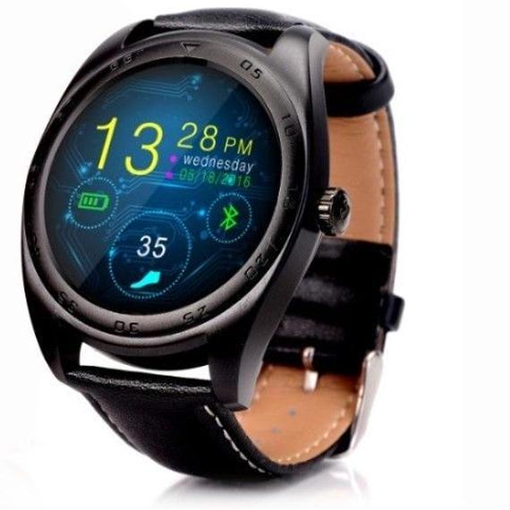 【送料無料!】AndroidのIOSのBluetoothスマートウォッチクラシック健康 メタルスマートウォッチスマートウォッチメタル MTK2502Cハートレートモニター 【新品】