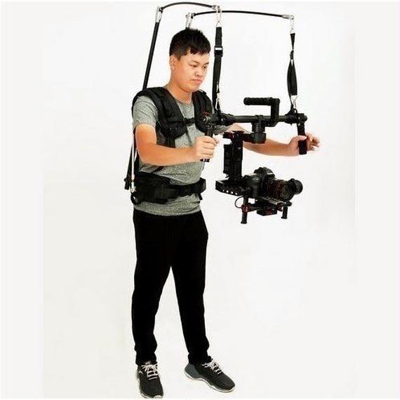 【送料無料!】イージーリグ 13kg ビデオベスト dslr DJI Ronin M 3 AXISジンバルスタビライザジャイロスコープ【新品】