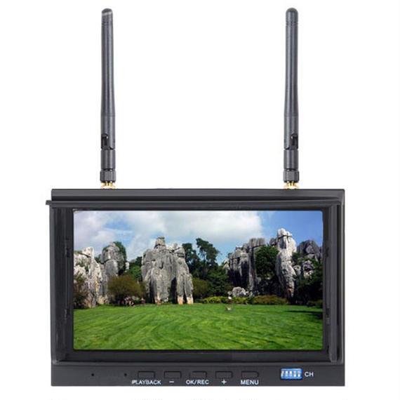 【送料無料!】FPV録画モニター 7インチ 5.8G32chダイバーシティ 5.8Ghz 700【新品】