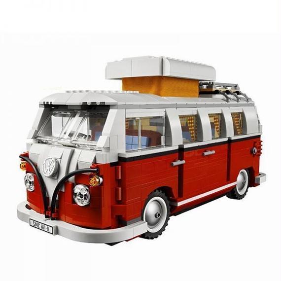 【送料無料!】激レア!! LEGO レゴ クリエイター 10220 互換 フォルクスワーゲン T1キャンパーヴァン LEPIN 21001【新品】