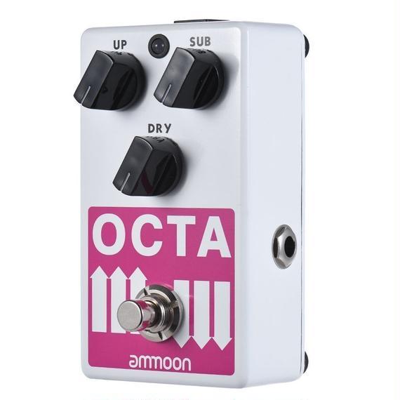 【送料無料!】ammoon OCTA エレクトリックギター ポリフォニック オクターブ ジェネレーター エフェクトペダル【新品】