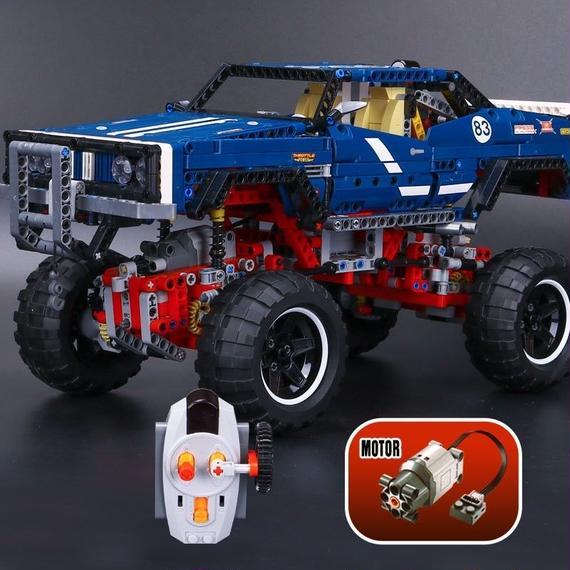 【送料無料!】レゴ テクニック 互換 4WDクローラー 41999 リミテッドエディション 保障有【新品】