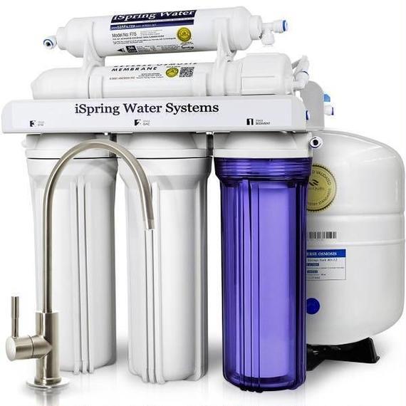 【送料無料!】iSpring 「RCC7」 5段階 逆浸透膜方式(RO)浄水システム 全米ベストセラー商品! 【新品】