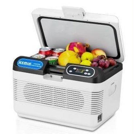 【送料無料!】ミニ冷蔵庫 冷凍庫 車用 12L 冷蔵 冷凍 車載冷蔵庫 12V ポータブル冷蔵庫 LEDディスプレイ アイスボックス クーラーボックス【新品】