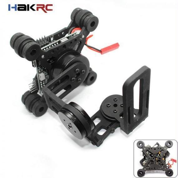 【送料無料!】HAKRC Storm32 3軸 ブラシレスジンバル Gopro3 / Gopro4 FPV【新品】