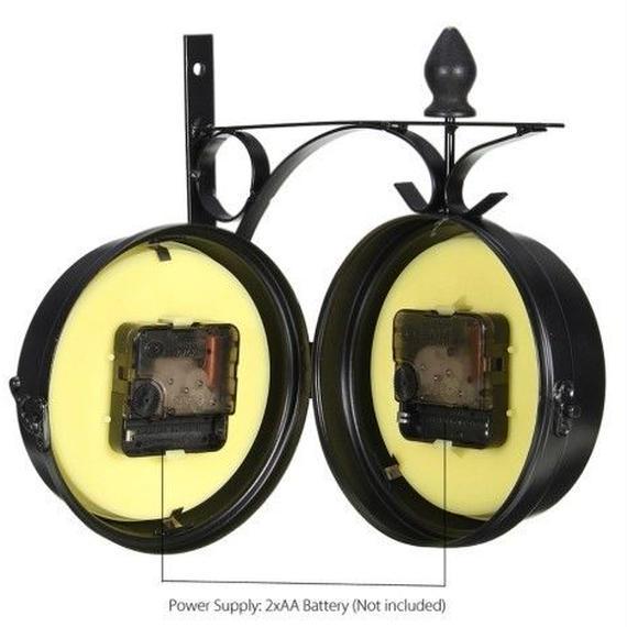 ヴィンテージ壁時計 レトロデザイン 直面壁時計 装飾品