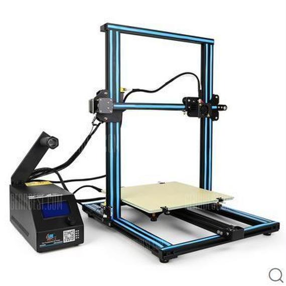 【送料無料!】Creality3D CR - 10S 3Dプリンター - BLUE US PLUG UPGRADED VERSION【新品】