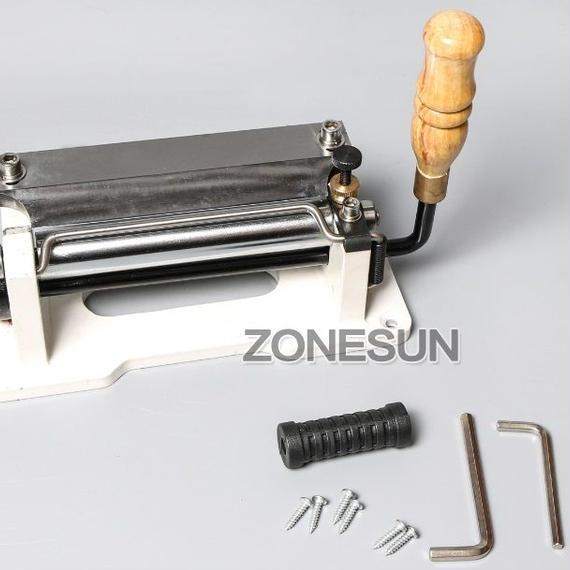 業務用 趣味 家庭用 ツール 手動革漉き機 レザースプリッター レザークラフト ハンドメイド 製品作成 皮革 加工 牛 馬 豚 エイ 鮫 パイソン
