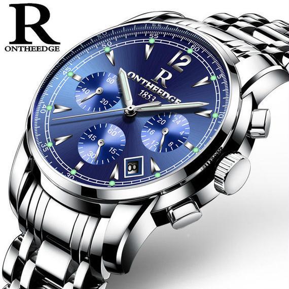 メンズ腕時計 高級ブランド ファッション ビジネス クォーツ時計 ステンレス 防水 海外ブランド品