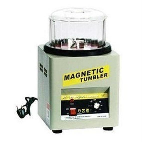 磁気バレル研磨機 ロータリーバレル ジュエリー アクセサリー 大容量 ハイパワー