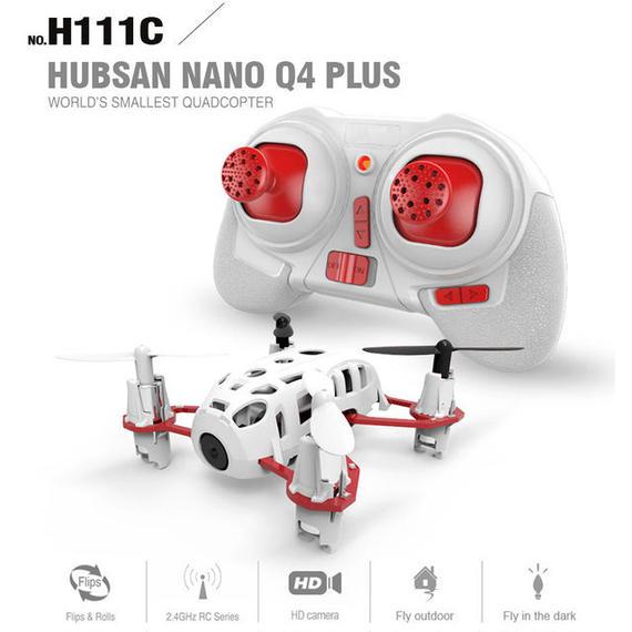 【送料無料!】Hubsan H111C Nano Q4 Plus 空撮セット(MODE2のみ) ドローン FPV【新品】
