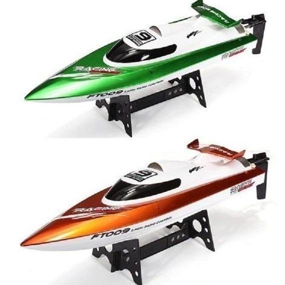 【送料無料!】オリジナルFeilun FT009 2.4G毎時30キロの高速RCレーシングボート水冷自己復原システム【新品】