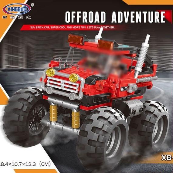 【送料無料!】新しいxingbao 03025カーシリーズ スーパービッグ車セット ビルディングブロック おもちゃ子供教育 【新品】